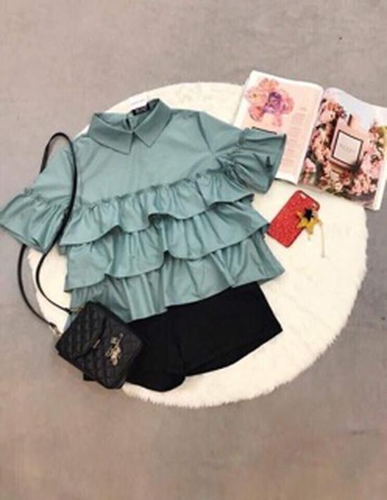 Áo Babydoll bèo nhiều màu