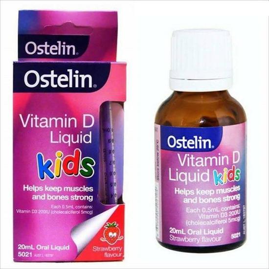 Vitamin D Ostelin Liquid Kids Dạng Nước 20ml/Lọ Úc Dùng Được Cho Trẻ Sơ Sinh