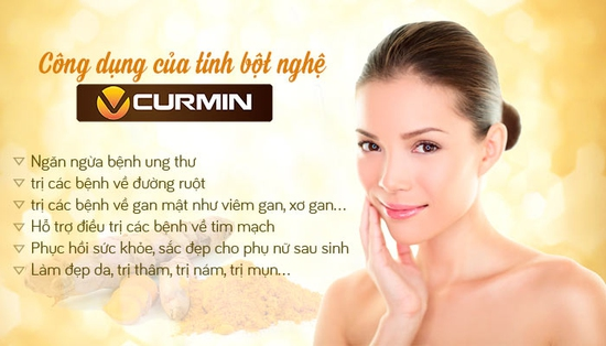 Tinh Bột Nghệ VCurmin Viện Khoa Học Công Nghệ 500g