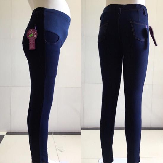 quần legging jean bầu