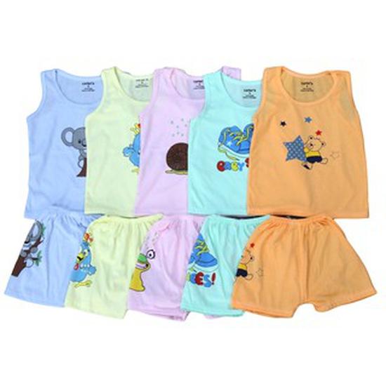 Combo 5 bộ quần áo 3 lỗ Carter dành cho bé yêu