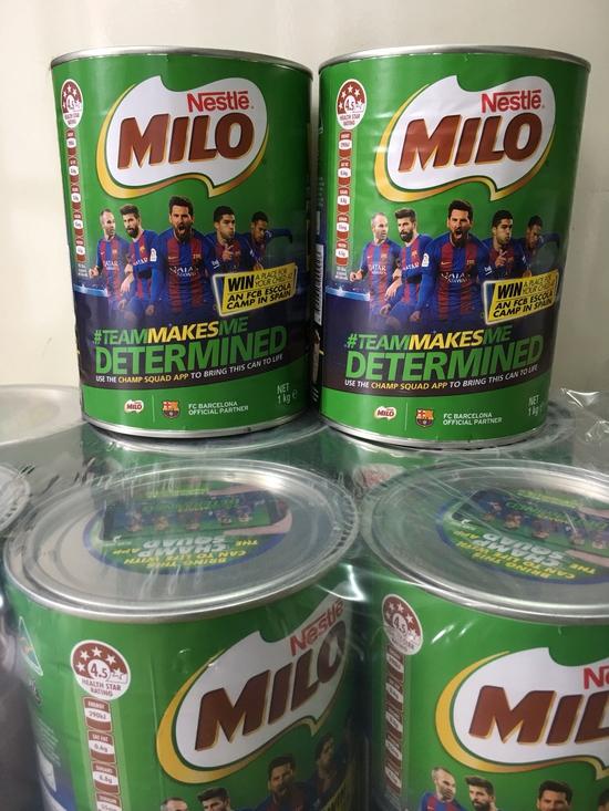milo ÚC 1 kg mẫu mới