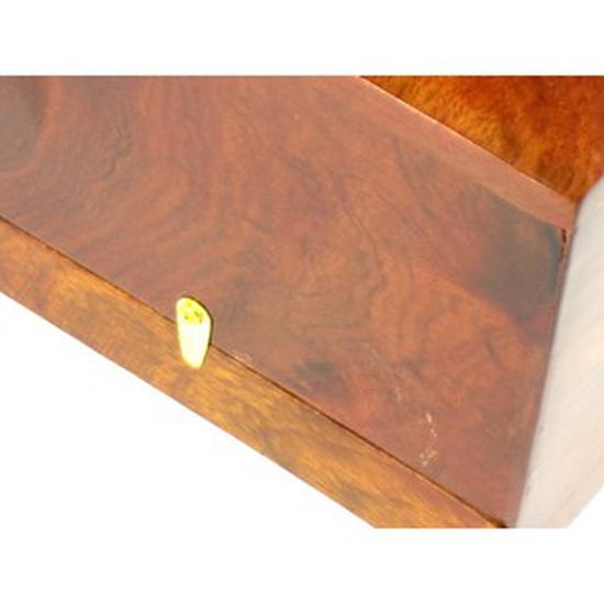 Hộp đựng giấy ăn khảm trai cao cấp tặng lọ tăm gỗ