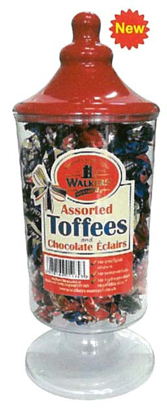 Kẹo Toffees Asstosted Red Jar 600Gr