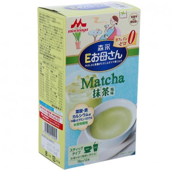 sữa bầu morigana vị trà xanh