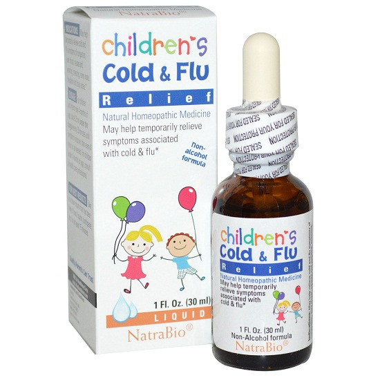 SIRO Children's Cold and Flu của Mỹ