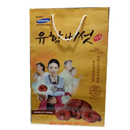 Nấm Linh Chi Thơm Thương Hiệu Samsung Hàn Quốc - Hàng chính hãng giảm mỡ bụng, phòng ung thư hiệu quả cao