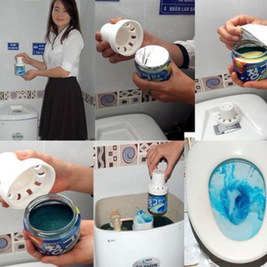 Lọ Tẩy Bồn Cầu Khử Mùi Toilet ngát hương thơm