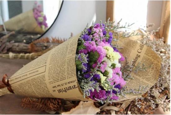 Hoa khô bó nghệ thuật