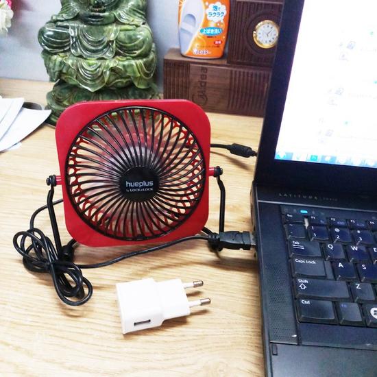Quạt USB mini Lock&Lock mát và cực êm - Bảo hành chính hãng