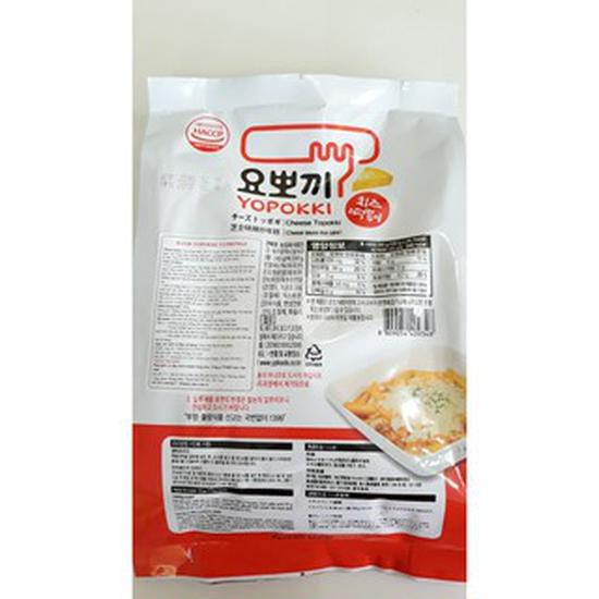 Bánh gạo Topokki vị phô mai Yopokki gói 240g