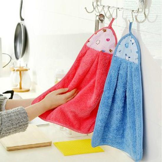 Combo 15 khăn lau tay siêu thấm tặng kèm 2 móc dính tường vĩnh cửu