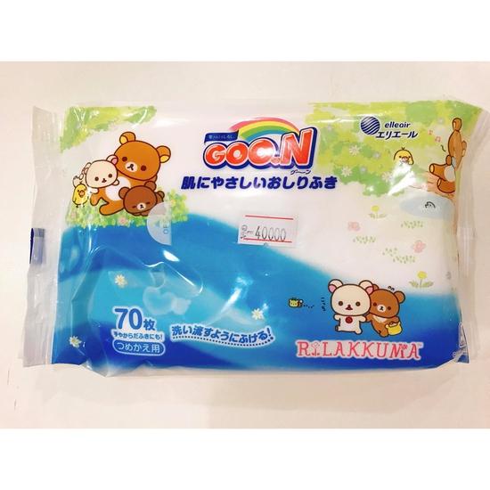 Giấy ướt Goon, giấy ướt không mùi