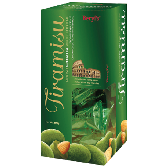 Sôcôla Tiramisu Almond Green tea 200g
