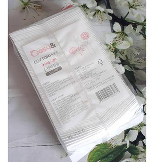 Bông tẩy trang Easy Cotton Puff 150 miếng