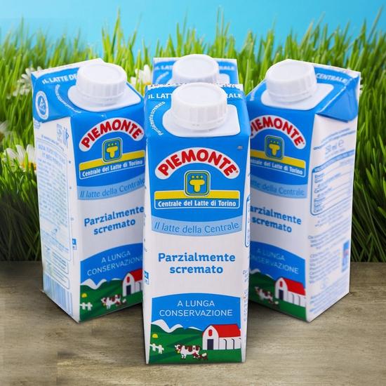 Sữa Piemonte 250mlx24Chai Tách Kem Xanh Nhạt Ý