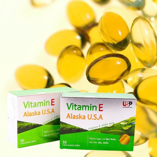 2 hộp Vitamin E Alaska U.S.A