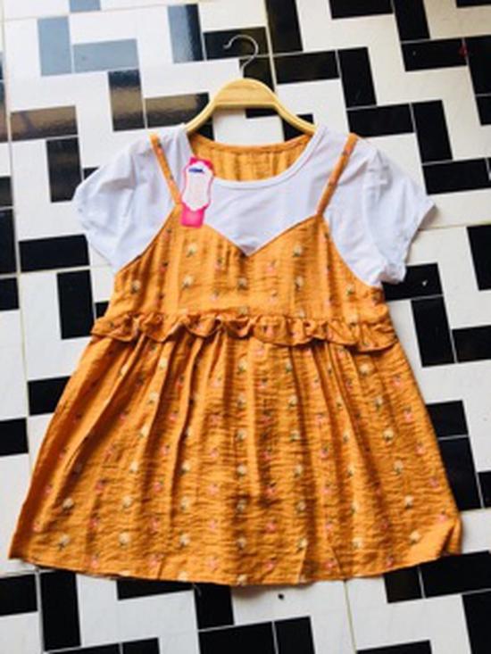 áo baby doll yếm vải tằm