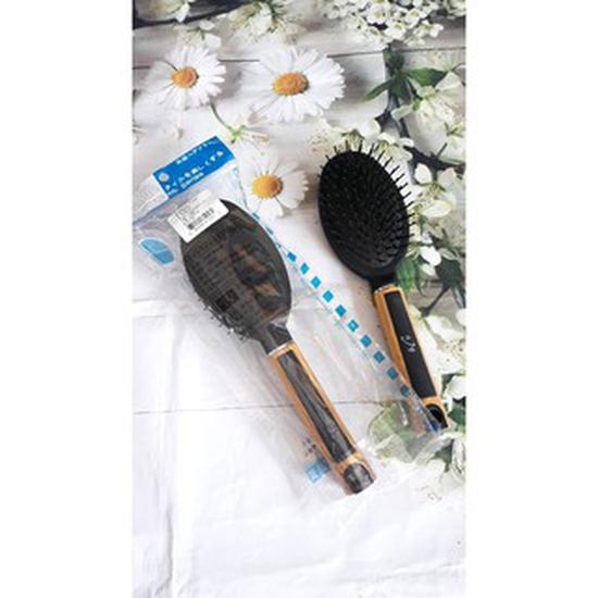 Lược chải tóc thẳng cán gỗ Nhật Bản