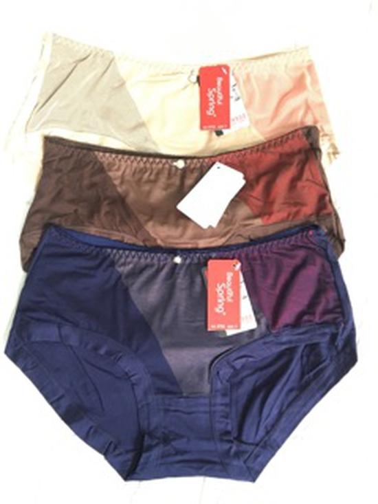 Set 5 quần lót cotton form to từ 52-80kg