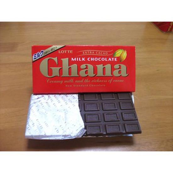 Socola sữa thơm ngon Lotte Ghana