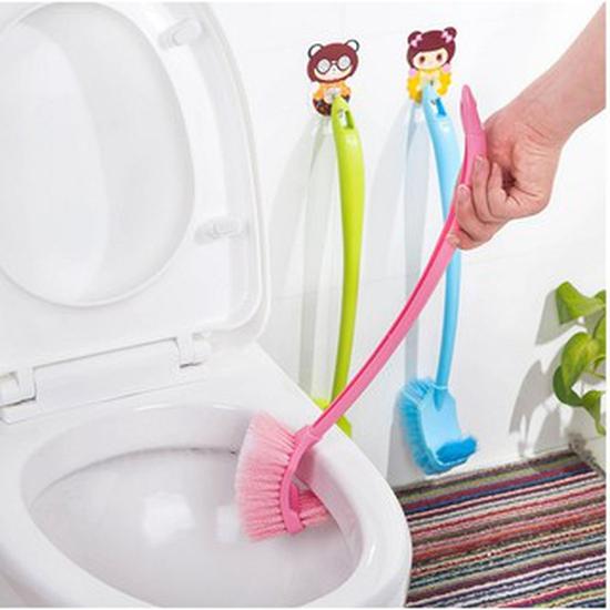 Combo 2 chổi cọ toilet 2 đầu thông minh