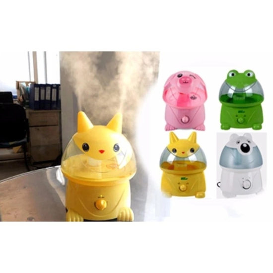 Máy phun sương tạo ẩm hình thú( lợn hồng, voi, picachu vàng)