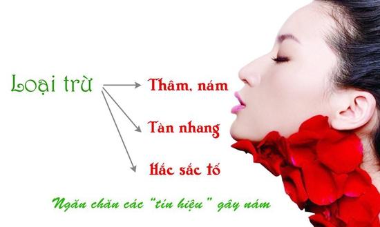 Combo Trị Mụn Tàn Nhang Trị Nám Dưỡng Trắng Yanhee