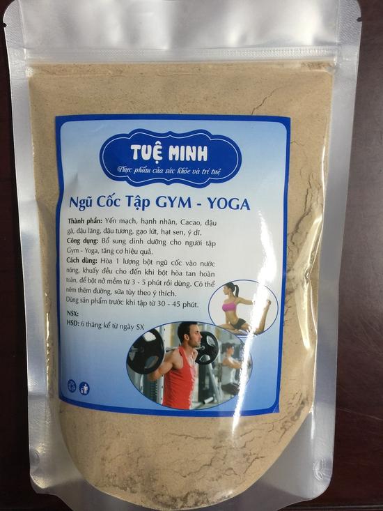 Bột ngũ cốc tập Gym - Yoga Tuệ Minh 1kg