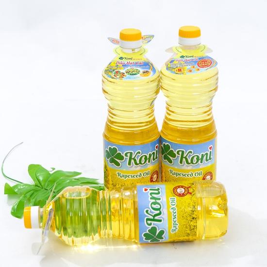 3 chai dầu hạt cải Koni nhập khẩu Ba Lan
