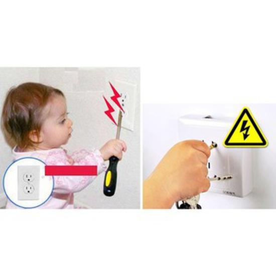 Nút bịt ổ điện 3 chân chống giật, an toàn cho bé
