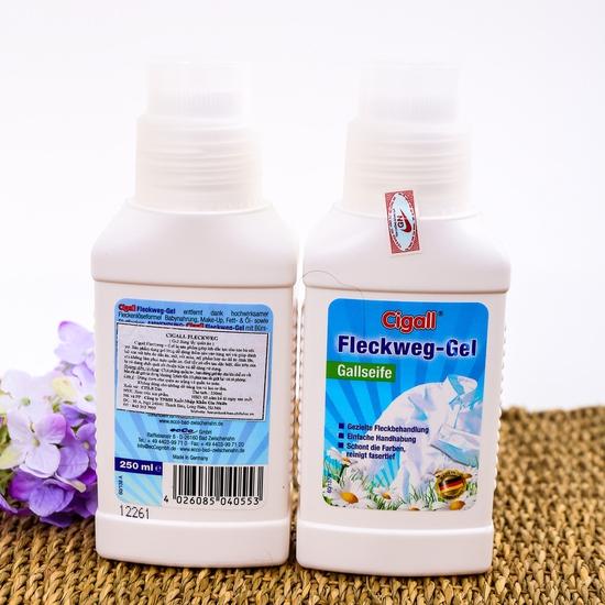 2 gel tẩy quần áo sạc vết bẩn Cigall NK Đức 250ml