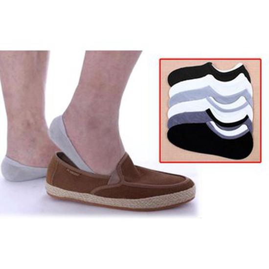 Combo 04 đôi tất mang giày lười nam Nhật Bản