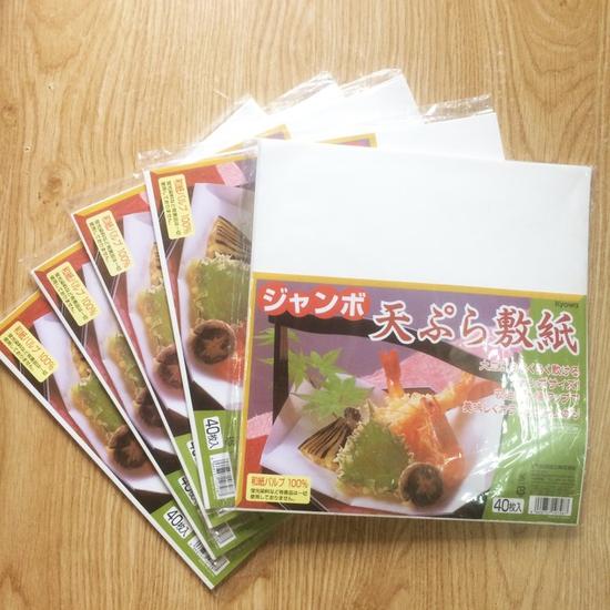 Set 40 Giấy thấm dầu mỡ Nhật Bản