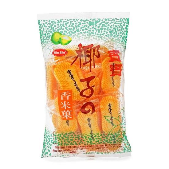 Bánh gạo vị dừa Bin Bin gói 150g