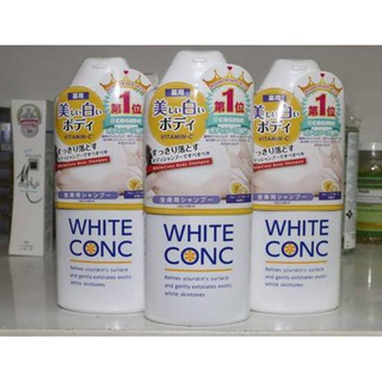 SỮA TẮM TRẮNG DA HẰNG NGÀY WHITE CONC BODY SHAMPOO NHẬT BẢN