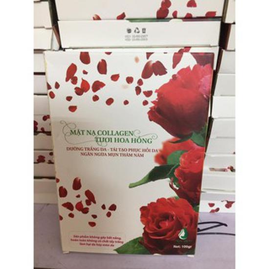 Collagen Hoa hồng tươi