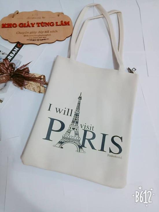 Túi đeo chéo Paris da siêu mềm