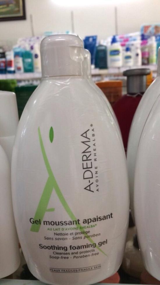 Sữa Tắm Trị Mụn Lưng-Viêm Lỗ Chân Lông A-Derma 500ml Pháp