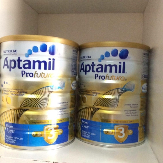 Combo 2 Hộp Sữa Aptamil 900g/Hộp Số 2/3 Úc