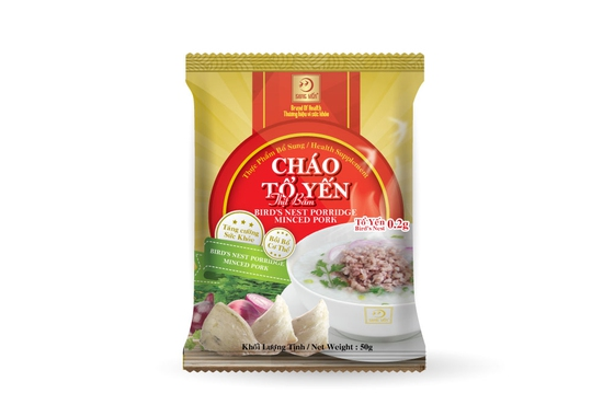 Combo 10 gói Cháo Yến Thịt Băm Song Yến