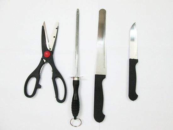 Bộ dao hợp kim 8 món