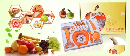 Bộ cắt tỉa hoa quả 10 món