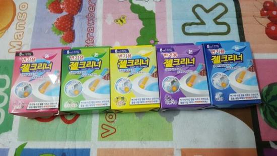 Combo 5 gel tẩy, khử mùi bồn cầu ( mix màu )