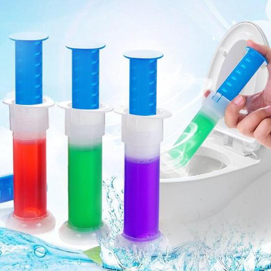 Combo 10 ống gel tẩy, khử mùi bồn cầu ( mix mùi )