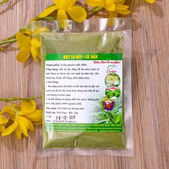 Bột lá nếp (lá dứa) nguyên chất