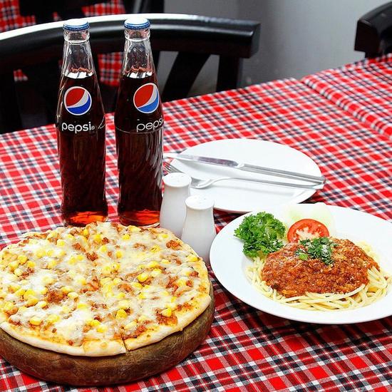 Pizza Hoa Ý - Hương Vị Ẩm Thực Ý Đúng Điệu Set Cho 02 Người Chỉ 99k