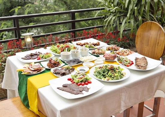 Buffet Vườn Nướng Brazil Kèm Bia Tươi Kozel Tiệp/ Pepsi Tươi - Menu Vip - Carnaval 145 Trung Hòa