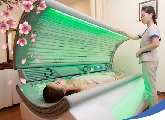 Bloom spa - Gói Trẻ hóa da toàn thân máy Collagen Nhật Bản Toàn Hệ Thống 04 Địa Điểm