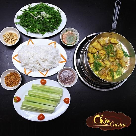 Chả cá lăng chuẩn vị truyền thống Hà Thành cho 2 người Nhà Hàng Chèo Cuisine